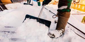 «очистка крыш от снега от 29р/кв2»